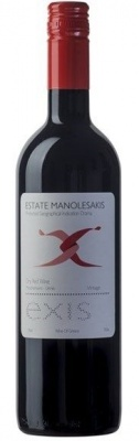Manolesakis Estate Exis Red 2017