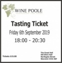 Autumn Tasting Ticket 2019