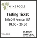Christmas Tasting Ticket 2017
