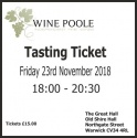 Christmas Tasting Ticket 2018