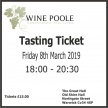 Spring Tasting Ticket - Friday 8th March 2019