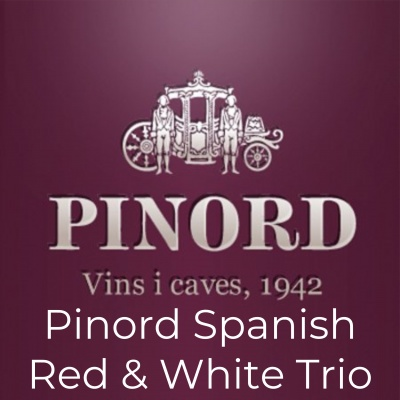 Pinord Spanish Red & White Trio