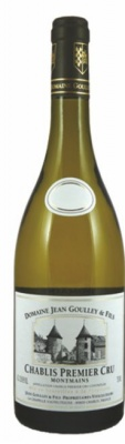 Chablis 1er Cru, Montmains 2018, Domaine Jean Goulley